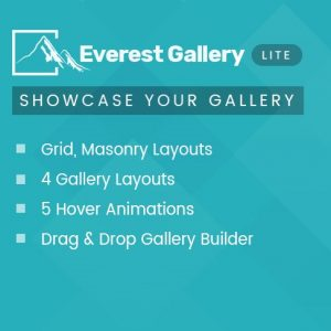 Responsive Media Gallery Plugin for WordPress – Everest Gallery Lite