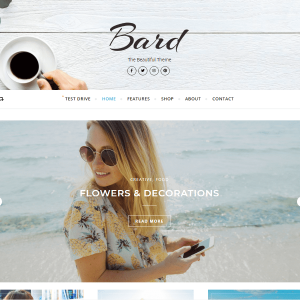 Brad Personal and Multi-Author WordPress Blog Theme