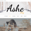 Ashe - Personal and Multi-Author WordPress Theme.