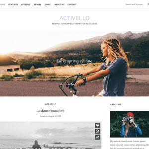 Activello - Clean, Minimal WordPress Theme